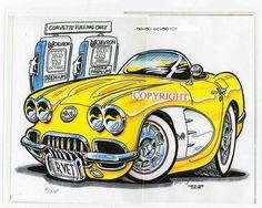 1958-1960 #Corvette by Bill Harper