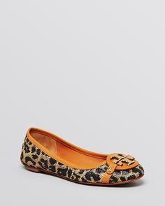 Tory Burch Ballet Flats - Aaden Leopard Print from Bloomingdale's on Catalog Spree