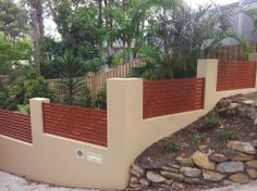 Rendered garden wall design site au google search for Better homes and gardens fence ideas
