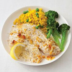 Crumb-Topped Tilapia by All You. If you're short on time, try this flavorful tilapia recipe, which can be prepared in under 20 minutes, from All You reader Jodee Morano.
