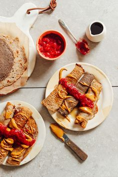 AMAZING Buckwheat Crepes! Vegan, gluten-free, sugar-free, and just 5 ingredients required! #vegan #glutenfree #plantbased #buckwheat #crepes #recipe