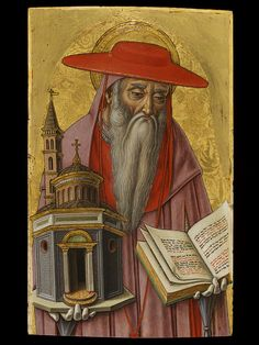 St Jerome from Fermo c 1481 arist Crivelli Vittore