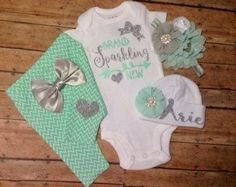 Going Home Outfit Brand Sparkling New Onesie by Thelittlekitten23