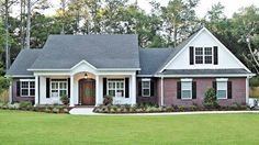 Country House Plan with 2097 Square Feet and 3 Bedrooms from Dream Home Source | House Plan Code DHSW23446