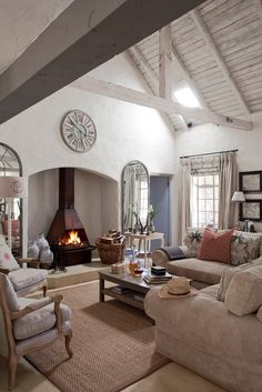 Dullstroom house living room