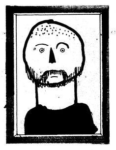 Portrait d'auteur - les éditions de Ta Mère - Benoit Tardif illustrateur Benoit, Graphic Illustration, Batman, Draw, Superhero, Portrait, Fictional Characters, Inspiration, Illustrator