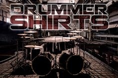 Find great deals on drummer t shirts. We have good collection of t-shirts for drummers Girls and Boys. Check out latest Drummershirts designs.Cool & Unique designs for drummers, Latest drummers accessories. Drummer T Shirts, Band Shirts, Music Bands, My Best Friend, Make It Simple, Hoodies, My Love, Unique, Bags