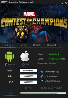 Marvel Contest of Champions Hack – Unlimited Gold Cheats Engine download for mobile. Download Marvel Contest of Champions Hack – Unlimited Gold Cheats Engine full version. Marvel Contest of Champions Hack – Unlimited Gold Cheats Engine for Mac, iOS and Android. Last version of Marvel Contest of Champions Hack – Unlimited Gold Cheats Engine