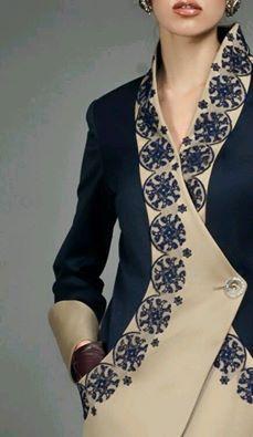 Detail of the Carousel Wrap Coat Maison Murasaki, Fall Winter 2012 Fashion Details, Look Fashion, Hijab Fashion, Fashion Dresses, Womens Fashion, Fashion Design, Glamour Moda, Costume, Mode Inspiration