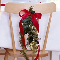 christmas chair backs - Google Search