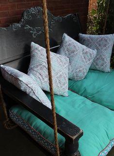 DIY Headboard Porch Swing | The Owner-Builder Network