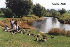 River Wyre picnic area at Garstang High Street car park.  www.canalrivertrust.org.uk