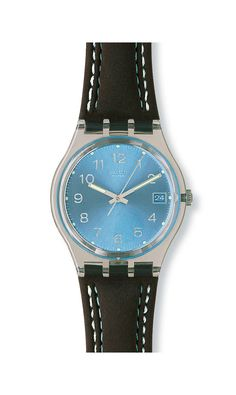 BLUE CHOCO (GM415) - Wishlist Natal - My Fan Collection - Swatch Club - Official Swatch Website - Swatch International