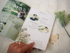 order paper item プロフィールブック の画像|saanaaeのブログ(sail wedding paper design)