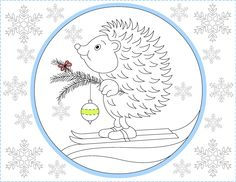 Nicoles Free Coloring Pages Winter Page
