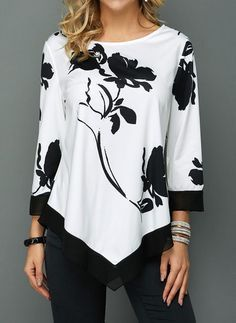 Stylish Tops For Girls, Trendy Tops, Trendy Fashion Tops, Trendy Tops For Women Page 2 Blouse Styles, Blouse Designs, Trendy Tops For Women, Blouses For Women, Stylish Tops For Girls, Mode Outfits, Fashion Dresses, Fashion Blouses, Tunic Tops