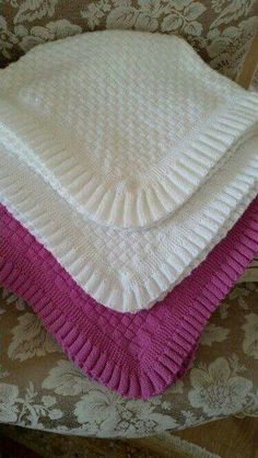 Diy Crafts - Beautiful Baby Shawl Blanket Hand Knitted in A Lace Medallion Pattern Baby Afghan Crochet, Baby Afghans, Crochet Blanket Patterns, Baby Knitting Patterns, Baby Patterns, Baby Shawl, Toddler Quilt, Baby Boy Quilts, Knitted Baby Blankets