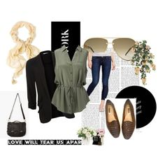 Working it by amber-mear on Polyvore. Good outfit for spring and summer.
