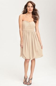 Jenny Yoo 'Keira' Convertible Strapless Chiffon Dress | Nordstrom-gorgeous, but expensive. one to wait for!!!