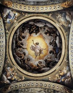 Correggio - Passing away of St John - WGA05318 - Correggio (pittore) - Wikipedia