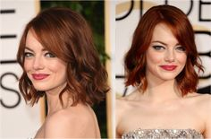 Chop, Chop: 21 Celebrities Go From Long to a Long Bob: Emma Stone