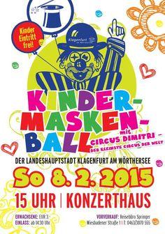Kindermaskenball im Konzerthaus. Klagenfurt, Comic Books, Comics, Cover, Concert, Cartoons, Cartoons, Comic, Comic Book