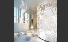 Lauren Rottet  Design, I love the feature wall