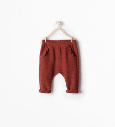 Image 1 of TROUSERS WITH FRILLED POCKET from Zara