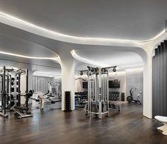 Arquitectos Zaha Hadid, Zaha Hadid Architects, New York Condos, Chelsea New York, Chelsea Manhattan, Luxury Gym, Zaha Hadid Design, Gym Interior, Interior Photo