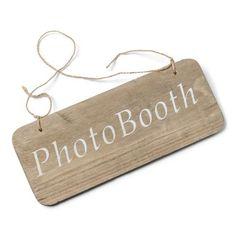 """Panneau en bois """"Photobooth"""""""