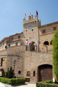 Vedute del castello di Ponzano  #marcafermana #ponzanodifermo #fermo #marche