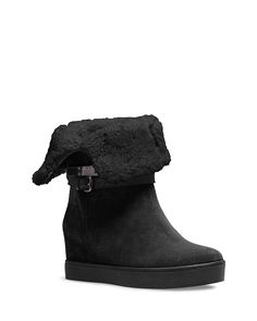 COACH Norelle Hidden Wedge Cold Weather Boot | Bloomingdale's