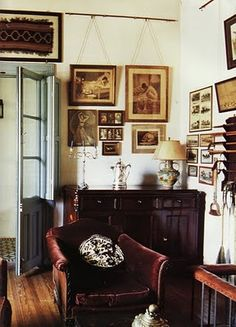 Photograph from World of Interiors (photograph by Ricardo Labougle)