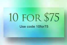 Birthdays coming up? Get them all for under $8 when you buy 10! Use code 10for75  Sale ends 09/20 https://jewelrygalore16.kitsylane.com/index.php?file=sale&sId=1289