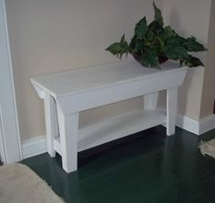 several colors to choose from 32 inch Handmade Bench Furniture Seating Wood by daleswoodandmore, 70.00