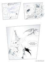 Teen Titans comic, page 31 by JessKat-art