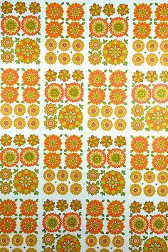 Floral Wallpaper Vintage