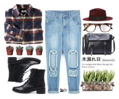 """""""#Shein"""" by credentovideos ❤ liked on Polyvore featuring Woolrich, Karl Lagerfeld, WithChic and Entourage of 7"""
