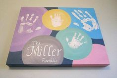 Family Handprint Artwork | Country & Victorian Times