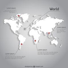 Kit pour pointer des endroits dans le monde