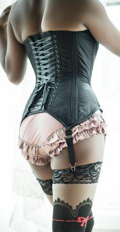ac3ac258d43 Dollymop Overbust corset by Dark Garden in black silk brocade   440    Photo  Joel