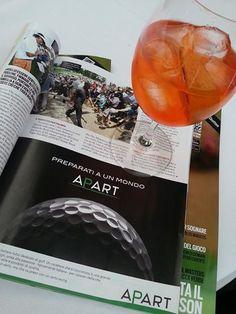 Campagna stampa. GolfToday (Numero di Giugno 2014)