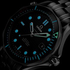 Omega Seamaster Diver, Omega Watch, Rolex Watches, Clock, Rio 2016, Accessories, Fashion, Watch, Moda