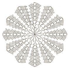 copertina a uncinetto Manta Crochet, Kirigami, Crochet Bebe, Free Crochet, Knit Crochet, Doilies, Crochet Patterns, Knitting, Tablecloths