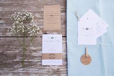 Trouwhuisstijl Rick en Elze-Marie - ontwerp door Leesign www.leesign.nl #trouwhuisstijl #stationary #wedding #whitewedding #leesignl