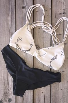 Get better one here! Show off glimpses of skin with this hot bikini set. This unique contrast color bikini has it all.
