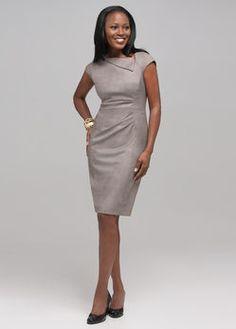Jones NY Shirred Dress...JNY does really great daytime/career dresses!