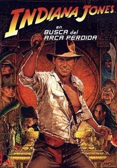 En busca del arca perdida (1981) EEUU. Dir: Steven Spielberg. Aventuras. Acción - DVD CINE 156-I