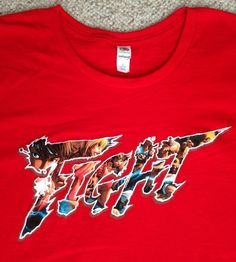 STREET FIGHTER 5 T-SHIRT Lootcrate Five V Video Game Promo Ringspun Cotton LRG #FruitoftheLoom #GraphicTee