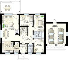 House Plans Mansion, My House Plans, Design Case, Home Projects, Planer, Building A House, Pergola, Floor Plans, Houses